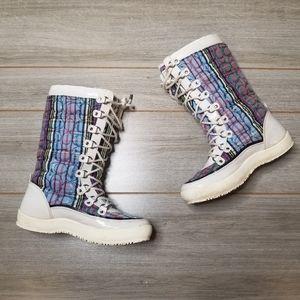 Coach Peggy Multi Color Winter Boots